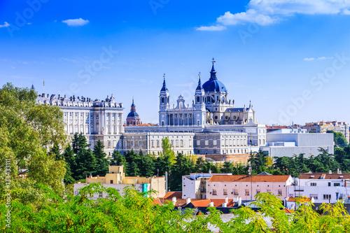In de dag Madrid Madrid, Spain.