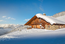Wooden Mountain Chalet In The ...