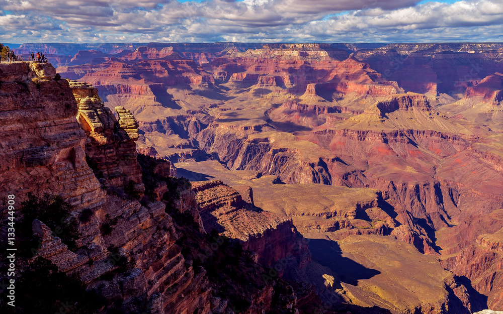 Grand Canyon, View From Mather Point - South Rim, Arizona