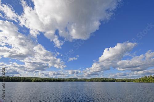 Fotografie, Obraz  Cloudscape above a Waterscape