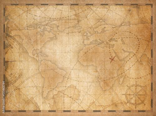 old world map background – kaufen Sie diese Illustration und finden ...