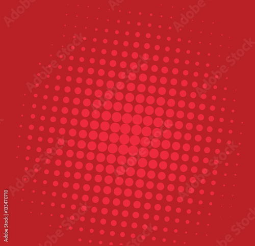 Pop Art Comic Red Background Pattern Illustration Vector - 133470710