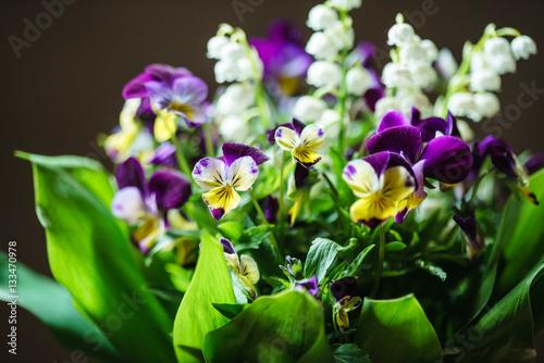 Poster Muguet de mai spring bouquet