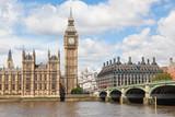 Fototapeta Big Ben - Big Ben and the River Thames