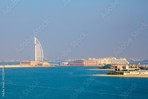 Amazing Dubai view from the ocean Poster