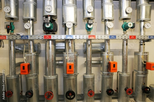 Fényképezés  Stellantriebe für Ventile (Actuators for valves)