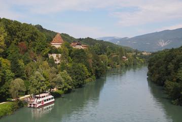 Fototapeta na wymiar L'Isère