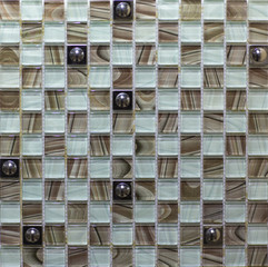 Panel Szklanyceramic mosaic tile for kitchen, bathroom, pool