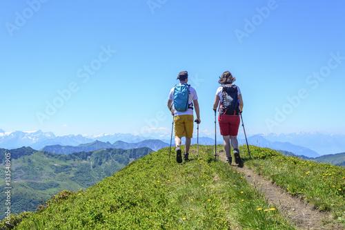 Wandern in den herrlichen Vorarlberger Alpen