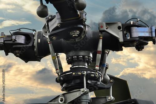 Fotografering  Rotor Helikopter Hubschrauber