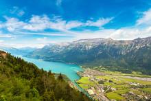 Panoramic View Of Interlaken