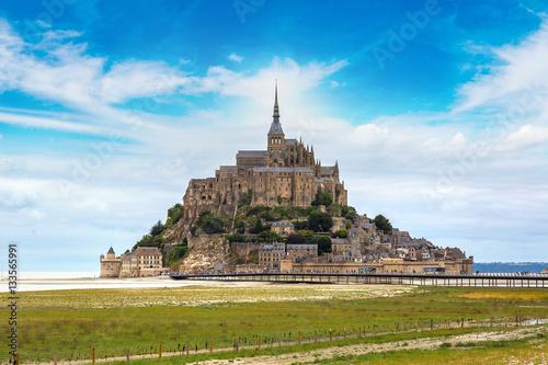 Obraz na płótnie Mont Saint Michele, France
