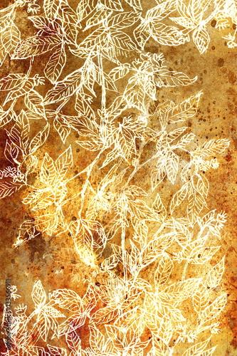 ozdobna-struktura-liscia-filigrane-na-abstrakcyjnym-tle