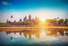 Angkor Wat Temple, Siem Reap, ...