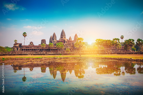 Photo Angkor Wat Temple, Siem reap, Cambodia