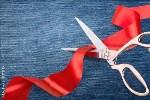 Fotografía  Red tape.