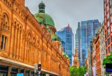 Queen Victoria Building In Sydney, Australia. Built In 1898
