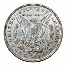 Morgan Dollar Silver Coin, Rev...