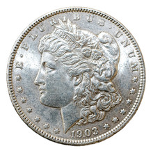 1903 Morgan Dollar Silver Coin...