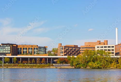 Plagát  Georgetown waterfront and park Washington DC, USA