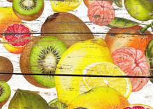 Hand Drawn Fresh Citrus Pattern