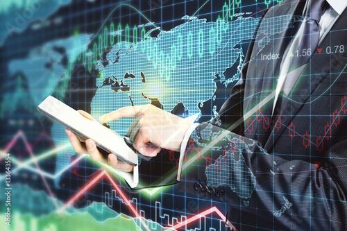 Fotografie, Obraz  Trading concept