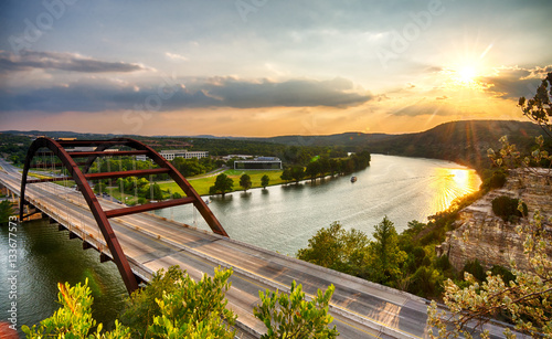 Pennybacker Canvas Print