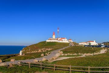 Fototapeta na wymiar Vista do Cabo da Roca em Portugal