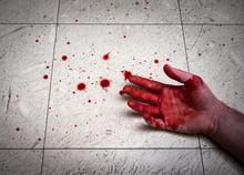 Murdered Bloody Hands