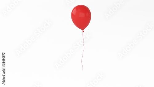 Photo  ballon red