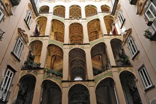 Fotografie, Obraz  Napoli, Rione Sanità - Palazzo dello Spagnuolo