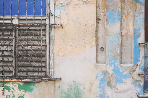 Papiers peints Beton Exterior decaying wall
