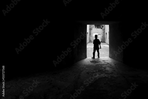 Papiers peints Tunnel Shadow