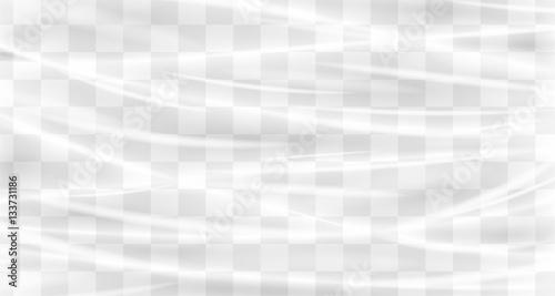 Fotografía  a real transparent plastic wrap texture