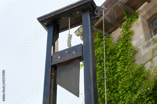 Photo French Guillotine