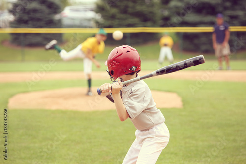Youth Baseball game