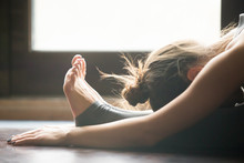 Young Woman Practicing Yoga, S...