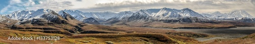 Photo Panorama Autumn in Denali National Park, Alaska
