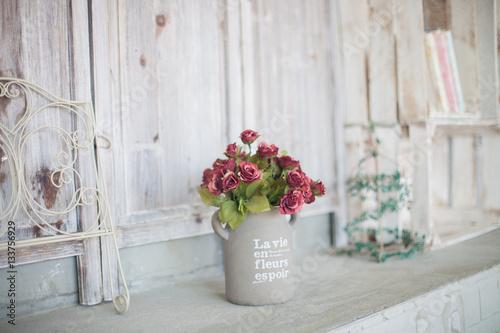Fotografie, Obraz  Vintage home arrangement