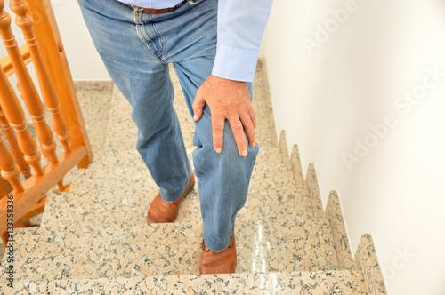 Valokuva  I can hardly walk up the stairs