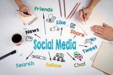 Social Media Concept. The Meet...