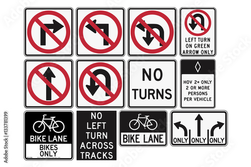 R3 2 Sign >> Road Signs In The United States R3 Series Lane Usage And