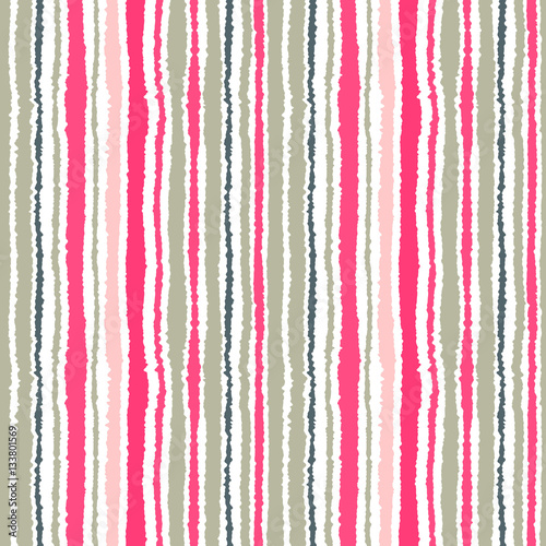 seamless strip pattern vertical lines with torn paper effect shred edge background light contrast gray pink colors on white vector illustration buy this stock vector and explore similar vectors at adobe adobe stock