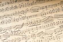Ancient Musical Manuscript