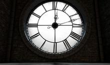 Antique Backlit Clock