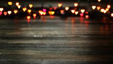 Heart Bokeh, Valentine's Day C...
