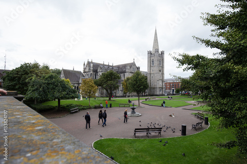 Stampe  St. Patricks Church in Dublin