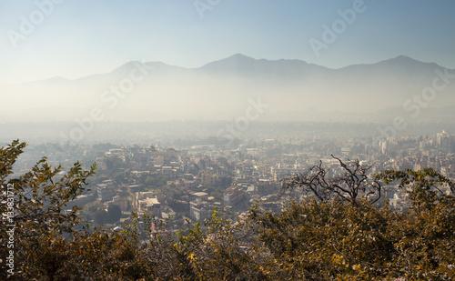 Smog over Kathmandu,Nepal