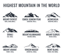 Mountain Tourist Vector Logos ...