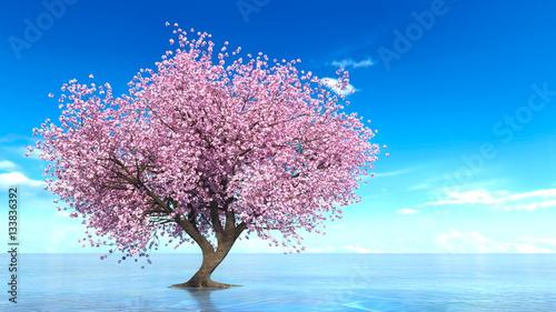 桜の木 Adobe Stock でこのストックイラストを購入して類似の